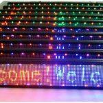 LED svieslentes 100x20 RGB