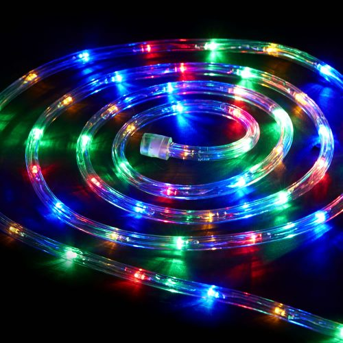 """LED lauko girlianda """"Virvė"""" spalvota 10m 1"""