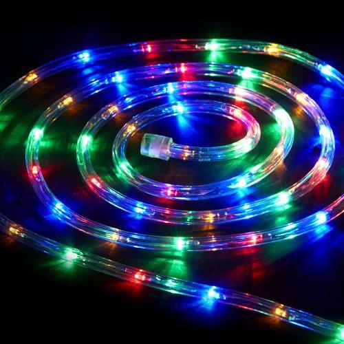 """LED lauko girlianda """"Virvė"""" spalvota 20m 1"""