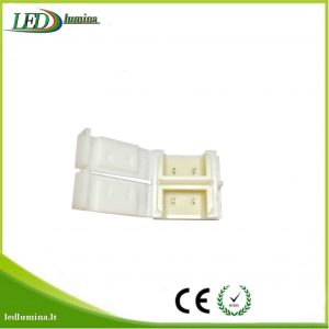 LED juostos IP65 sujungimas 10mm užspaudžiamas
