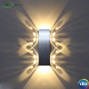 LED sieninis šviestuvas 6W Drugelis