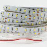 LED juosta 12V 9.6W/m nehermetiška neutraliai balta 100lm/W