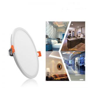 8W LED panelė apvali atspari vandeniui naturali balta šviesa