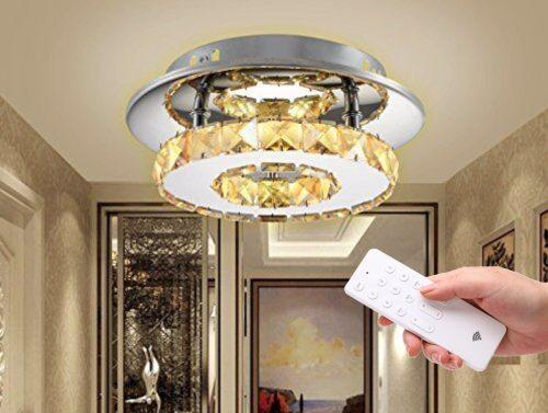 LED lubinis šviestuvas su pulteliu dimeriuojamas 12W 1