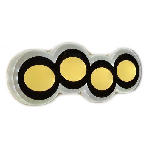 LED sieninis šviestuvas 8w 1