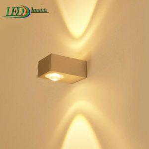 LED sieninis šviestuvas kryptinis 6W šilta balta šviesa