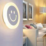 """LED sieninis šviestuvas 15W """"Šypsenėlė"""" Dienos šviesa"""