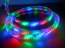LED lauko juosta 8W/m 220V hermetinė spalvota (Bėgančios spalvos)