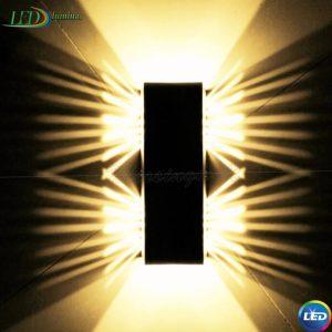 LED sieninis šviestuvas 2W Drugelis
