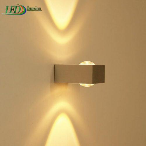 LED sieninis šviestuvas kryptinis 6W šilta balta šviesa 1