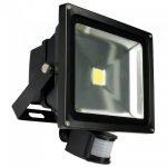 LED lauko prožektorius su judesio davikliu 30W