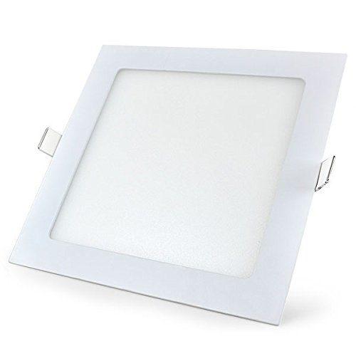 12W LED panelė kvadratinė šalta balta šviesa 1