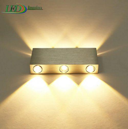 LED sieninis šviestuvas kryptinis 6W dimeriuojamas 1