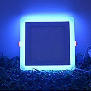 6W LED panelė keičianti spalvas kvadratinė