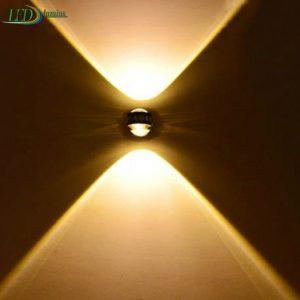 LED sieninis šviestuvas 2W
