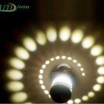LED sieninis-lubinis šviestuvas 3D 3W šilta balta šviesa 4