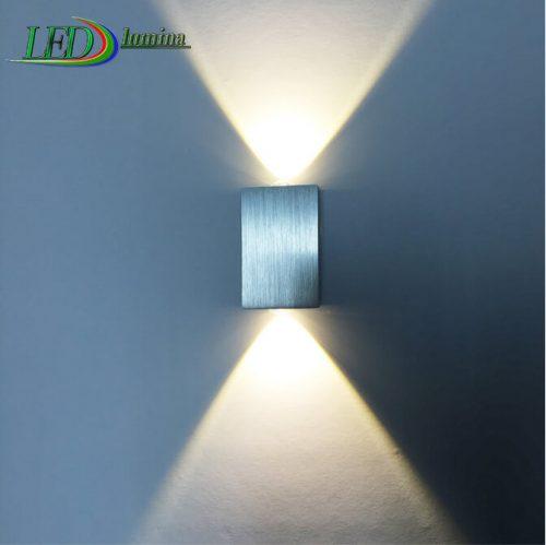 LED sieninis šviestuvas 2W šilta balta šviesa 1