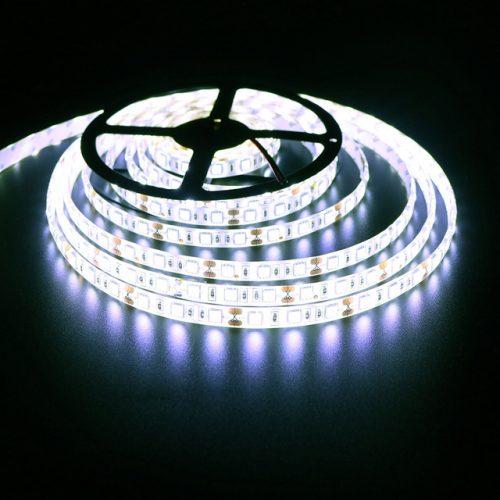 LED juosta 12v 12W/m balta 1200lm/1m 1