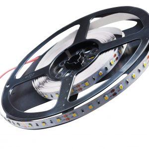 RGBW + šaltai balta LED juosta 12V 14.4W/m nehermetiška
