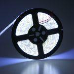 LED juosta 12V 18W/m hermetiška IP65 dienos šviesa