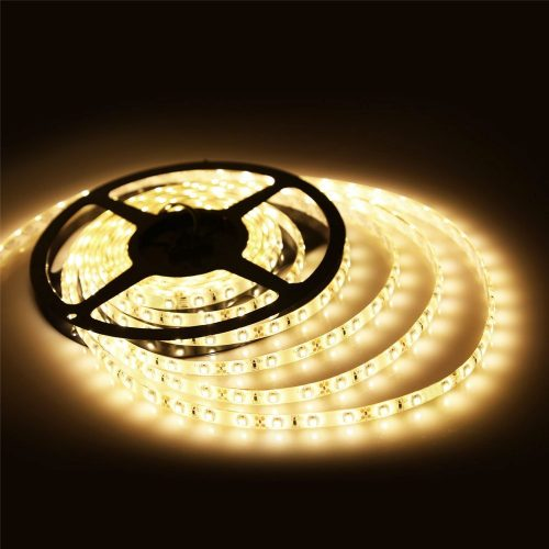 LED juosta 12V IP20 12W/m šilta balta 1200lm/1m 1