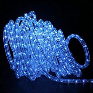 """LED lauko girlianda """"Virvė"""" mėlyna 20m"""
