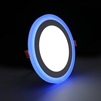 9W LED panelė balta su mėlynu keičianti spalvas 1