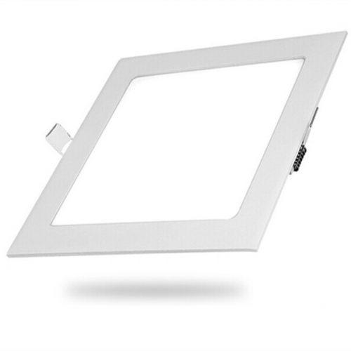 9W LED panelė Kvadratinė šilta balta šviesa 1