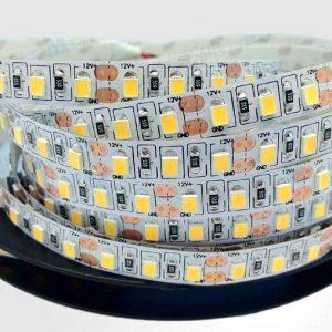 LED juosta 12v 12W/m balta 1200lm/1m