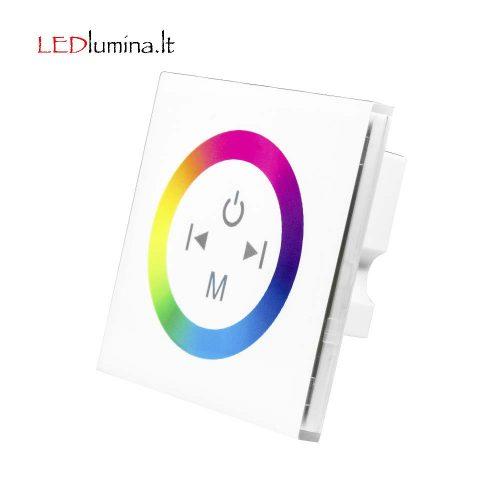 RGB LED juostos valdiklis sensorinis sieninis 12A 1