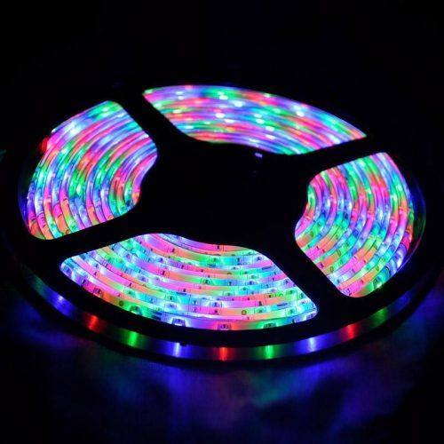RGB LED juosta 12V 14,4W/m nehermetiška IP20 1