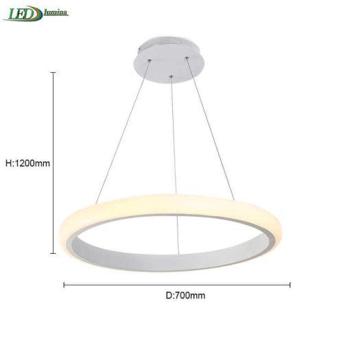 LED Pakabinamas šviestuvas Lagūna 44W 1