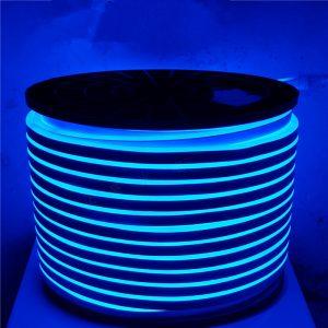 Neoninė LED juosta mėlyna dvipusė