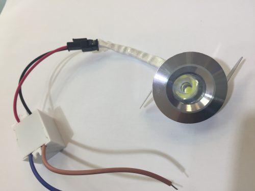 Akcentinis LED šviestuvas montuojamas siena ar baldus 3W 1