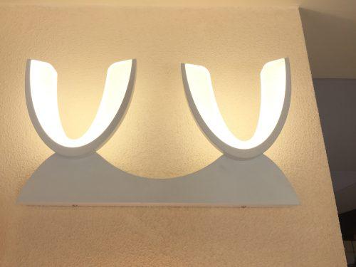 LED sieninis šviestuvas 16W baltas 1