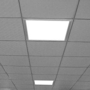 LED šviesos panelė 48W sidabrinis rėmas 595x595mm 3200k (šilta balta)