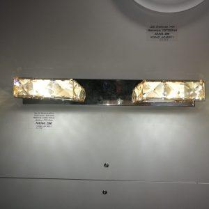 LED sieninis šviestuvas krištolinis 8w