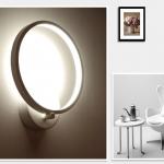 LED sieninis šviestuvas 12.6W baltas