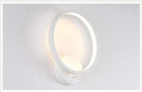 LED sieninis šviestuvas 15W baltas matinis 1