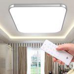 LED lubinis šviestuvas su pulteliu dimeriuojamas 36W