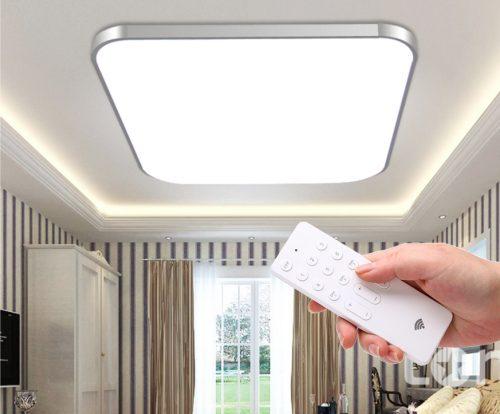 LED lubinis šviestuvas plafonas su pulteliu dimeriuojamas 12W 1