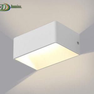 LED sieninis šviestuvas kryptinis 7W šilta balta šviesa