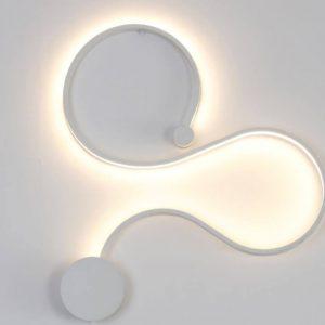 LED sieninis šviestuvas 28W baltas