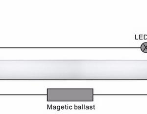 LED šviestuvas T8 60cm ilgio