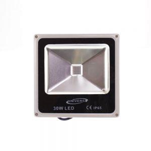 LED RGB lauko prožektorius 30W su distanciniu valdymu