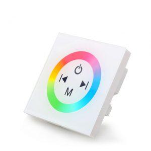 RGB LED juostos valdiklis sensorinis sieninis 12A