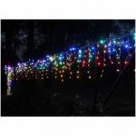 LED Girlianda spalvota 100 LED lempučiu