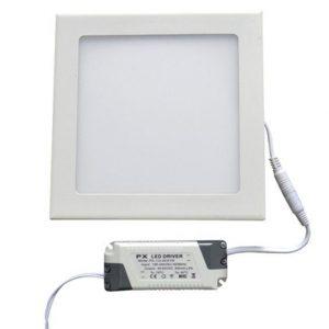 6W LED panelė kvadratinė šalta balta šviesa
