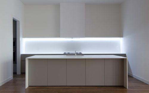 LED juostos komplektas virtuvei 17w 1m 1