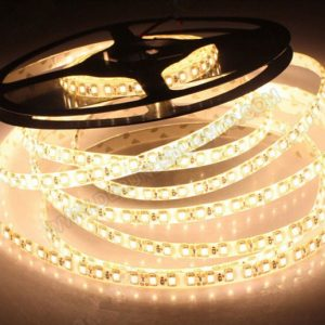 LED juosta 12V IP20 12W/m šilta balta 1200lm/1m